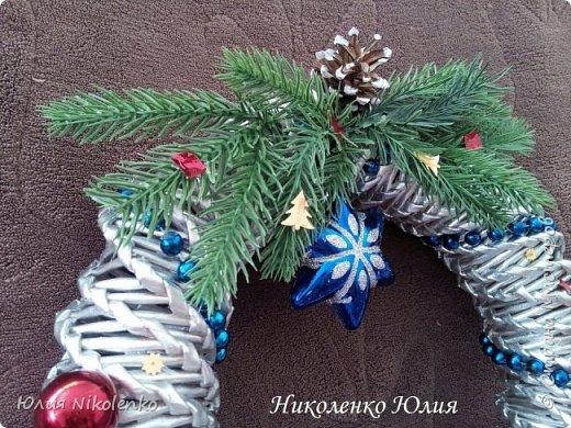 Рождественские и новогоднии венки фото 5