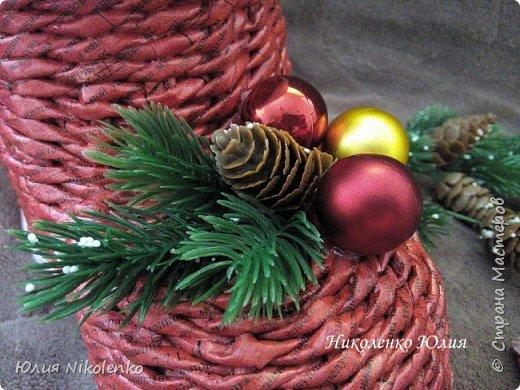 Сапожок новогодний-рождественский! фото 6