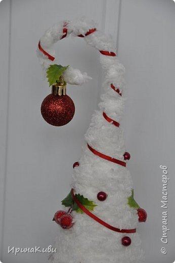 """Давно заглядывалась на """"вкусную"""" елочку с ягодками от Irulen http://stranamasterov.ru/node/647486?c=favorite_b Очень захотелось сделать похожую. фото 2"""