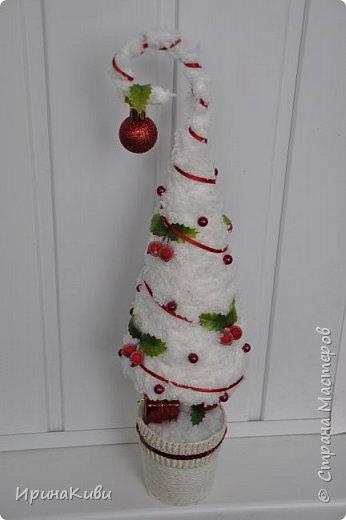 """Давно заглядывалась на """"вкусную"""" елочку с ягодками от Irulen http://stranamasterov.ru/node/647486?c=favorite_b Очень захотелось сделать похожую. фото 1"""