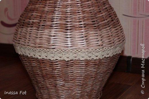 Напольная ваза и корзинка с крышкой фото 4