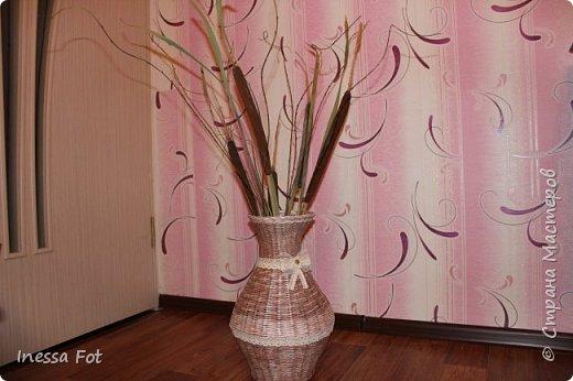 Напольная ваза и корзинка с крышкой фото 1