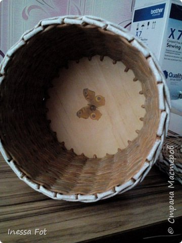 Напольная ваза и корзинка с крышкой фото 7