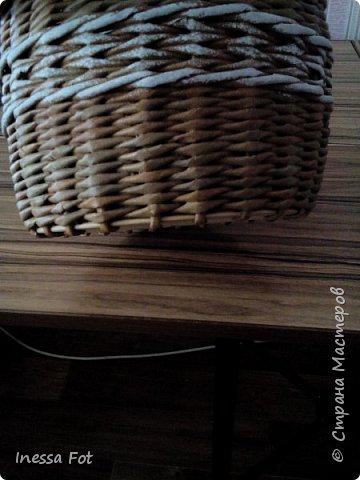 Напольная ваза и корзинка с крышкой фото 9