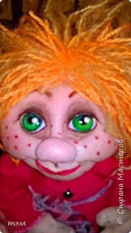 Продолжаю играть в куклы... Весьма интересное занятие. И полезное. Этот домовёнок скоро обзаведётся новым домом и хозяйкой, которая пишет очень светлые стихи. фото 7