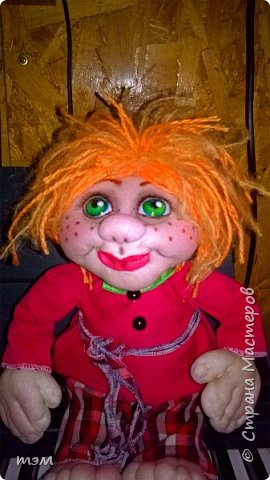 Продолжаю играть в куклы... Весьма интересное занятие. И полезное. Этот домовёнок скоро обзаведётся новым домом и хозяйкой, которая пишет очень светлые стихи. фото 8
