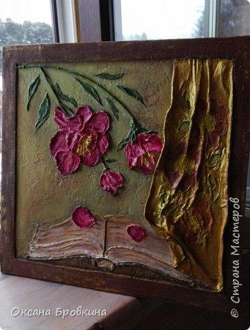 Объемное панно «Открытая книга» фото 2