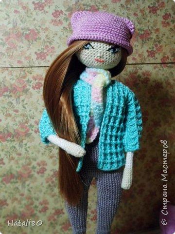 Вот такая куколка у меня связалась на днях! фото 4