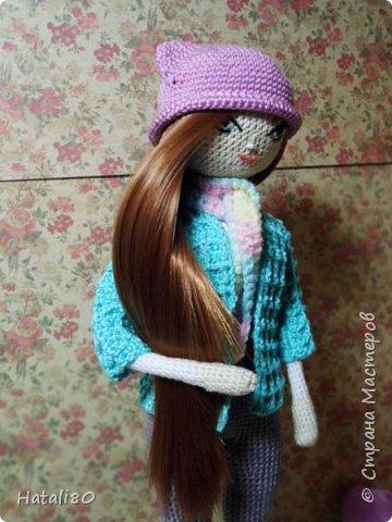Вот такая куколка у меня связалась на днях! фото 2