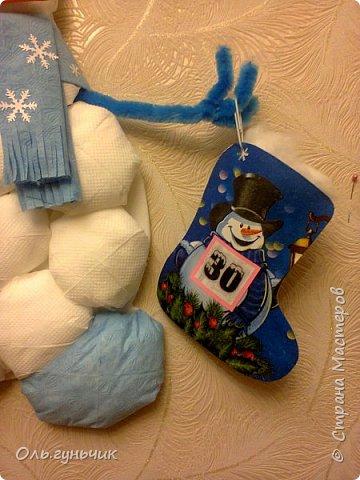 Всем привет!!! Скоро новый год и чтобы моим мальчишкам было интересно его ждать, сделала я вот такой адвент-календарь. И пока моя ребятня спит спешу показать вам что у меня получилось)))) За все идеи, картинки, распечатки спасибо огромное Марине Лужинской: http://stranamasterov.ru/node/980574 обязательно к ней загляните, это просто кладезь идей!!! еще раз спасибо Мариночка огромное!!!! фото 44