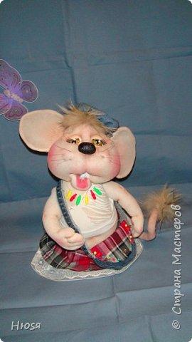 Здравствуйте! Вот закончила вторую мышь . Пара моей первой,  http://stranamasterov.ru/node/1057937.  фото 2
