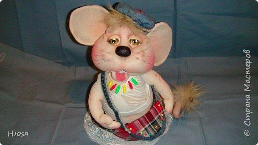Здравствуйте! Вот закончила вторую мышь . Пара моей первой,  http://stranamasterov.ru/node/1057937.  фото 1