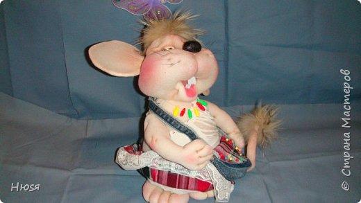 Здравствуйте! Вот закончила вторую мышь . Пара моей первой,  http://stranamasterov.ru/node/1057937.  фото 4
