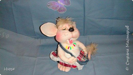 Здравствуйте! Вот закончила вторую мышь . Пара моей первой,  http://stranamasterov.ru/node/1057937.  фото 5