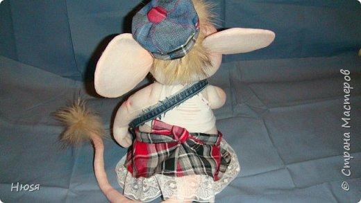 Здравствуйте! Вот закончила вторую мышь . Пара моей первой,  http://stranamasterov.ru/node/1057937.  фото 7