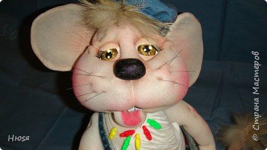 Здравствуйте! Вот закончила вторую мышь . Пара моей первой,  http://stranamasterov.ru/node/1057937.  фото 9
