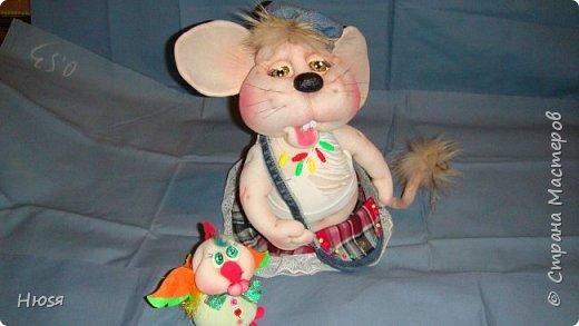 Здравствуйте! Вот закончила вторую мышь . Пара моей первой,  http://stranamasterov.ru/node/1057937.  фото 12