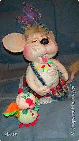 Здравствуйте! Вот закончила вторую мышь . Пара моей первой,  http://stranamasterov.ru/node/1057937.  фото 13