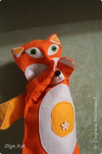 Моя первая рукавичка для кукольного театра фото 4