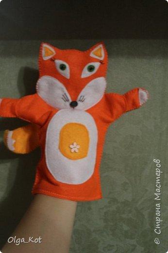 Моя первая рукавичка для кукольного театра фото 1