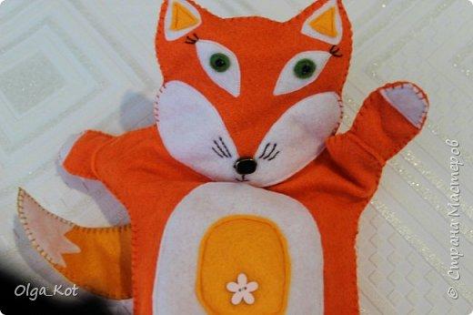 Моя первая рукавичка для кукольного театра фото 5