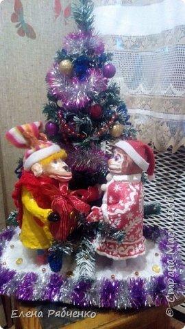 Новогодняя упряжка Деда Мороза. фото 2