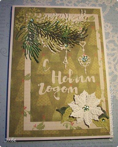 Все уже показывают новогодние открыточки и я не утерпела. Дождь и снег, фотографировать невозможно, но до солнца терпеть, боюсь, долго фото 3