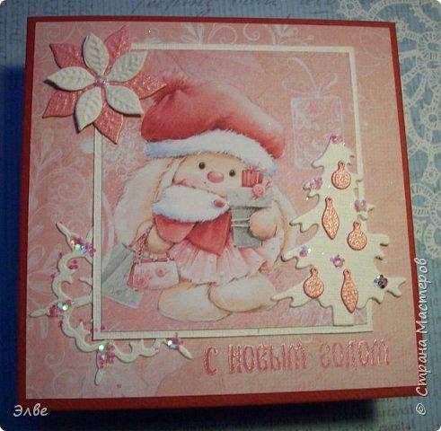 Все уже показывают новогодние открыточки и я не утерпела. Дождь и снег, фотографировать невозможно, но до солнца терпеть, боюсь, долго фото 6