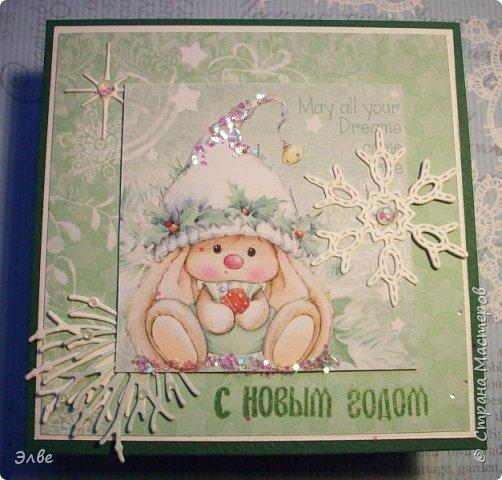 Все уже показывают новогодние открыточки и я не утерпела. Дождь и снег, фотографировать невозможно, но до солнца терпеть, боюсь, долго фото 10