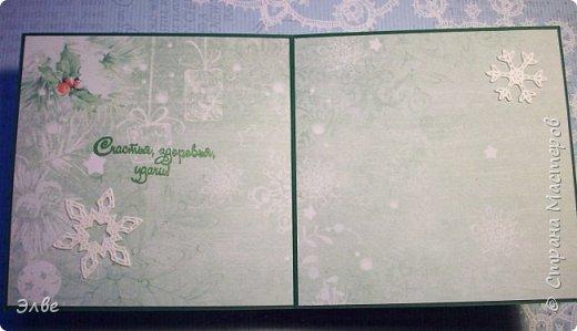 Все уже показывают новогодние открыточки и я не утерпела. Дождь и снег, фотографировать невозможно, но до солнца терпеть, боюсь, долго фото 11