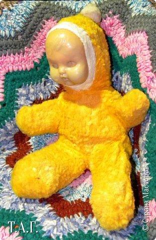 """Эта запись появилась благодаря Анне http://stranamasterov.ru/user/193463 . Она предложила """"Вспомнить детство""""  http://stranamasterov.ru/node/1057416#comment-14281930  и показать СВОИ игрушки, времен СССР. фото 4"""