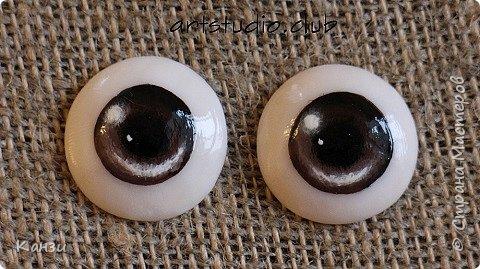 Здравствуйте, творческие жители! Хочу поделиться тем, как я леплю и расписываю глазки для кукол.