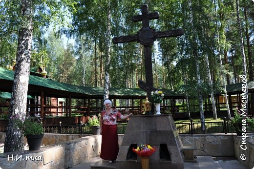 Место, именуемое «Ганиной Ямой», хорошо известно не только в Екатеринбурге, но и на всей территории России. Сегодня это удивительное место является одним из самых популярных объектов Урала. Сюда съезжаются не только православные верующие, но и множество туристов, интересующихся  историей России. Вот и мы с группой пенсионеров побывали там на экскурсии. фото 23