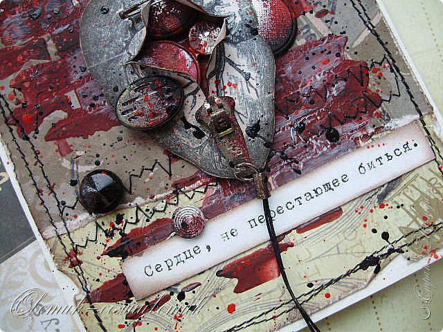 Здравствуйте все! Открытки сделаны на вебинаре Ольги Знаменской (Пастила) на Скрап-интенсиве. Никогда не делала ничего подобного и даже не испытывала тяги к этому, скорее, наоборот:) А сейчас почему-то очень-очень захотелось... Первая открытка. Она еще более мягкая... фото 8