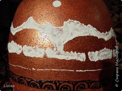 Доброго времени суток, каждому заглянувшему! Обязательные моменты в задумке были: человечки из африканского племени и разделение вазы на две части. Итог перед Вами. фото 18