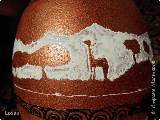 Доброго времени суток, каждому заглянувшему! Обязательные моменты в задумке были: человечки из африканского племени и разделение вазы на две части. Итог перед Вами. фото 19