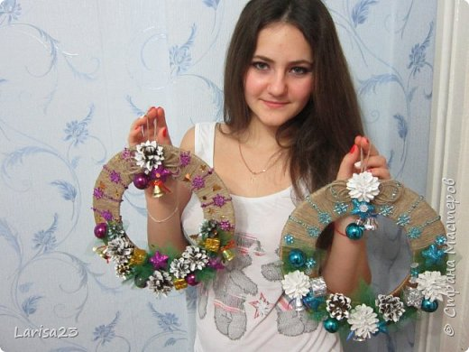 Новогодний венок))) фото 8