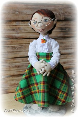 Кукла Леся....В ожидании своего любимого с армии...) фото 4