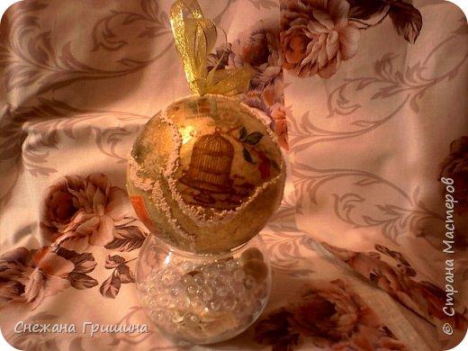 Здравствуйте жители Страны Мастеров!! Новогодняя эпопея в разгаре..хочу показать винтажные игрушки сделаные в подарок для моих подруг нашего рукодельного мира!! фото 7