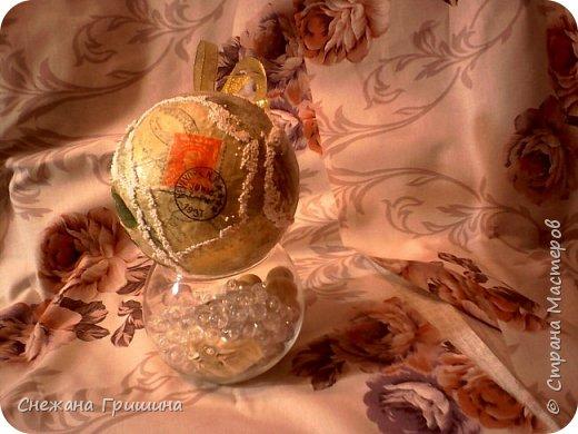 Здравствуйте жители Страны Мастеров!! Новогодняя эпопея в разгаре..хочу показать винтажные игрушки сделаные в подарок для моих подруг нашего рукодельного мира!! фото 6