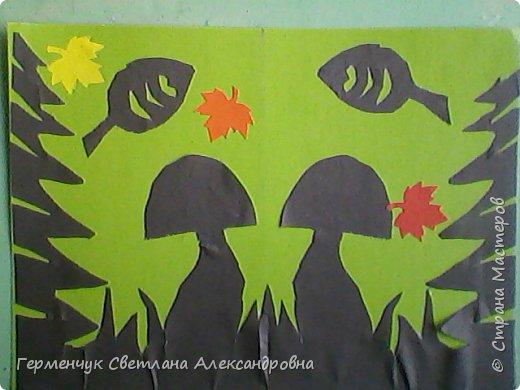 """Работы  ребят 4""""В"""" класса """" Осенние грибы"""" фото 22"""