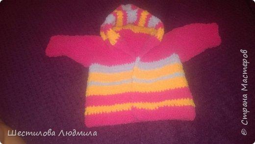 Котошапка и шарфик для средней дочки. фото 3