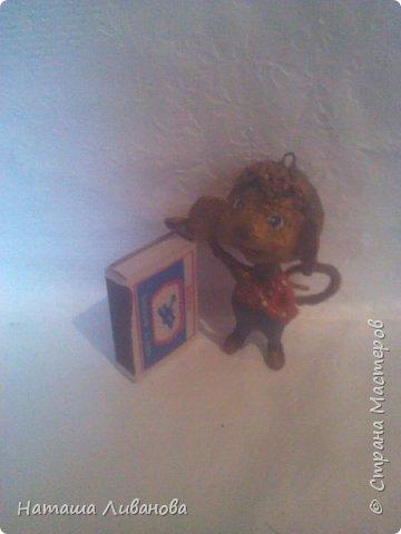 Мои елочные игрушки за прошлые годы...эти из ваты. Фотограф из меня как...снегирь из глухаря...неважный.)))  фото 4