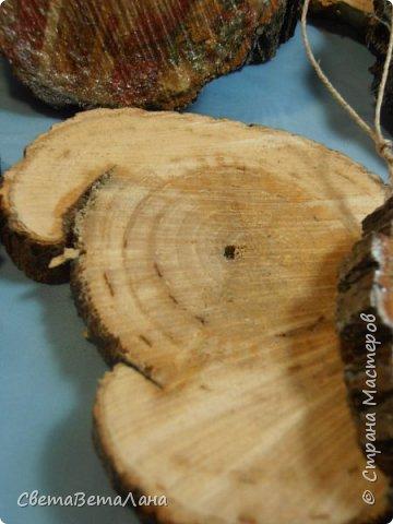 Доброе время суток Страна..... забрала из сада деревянные заготовочки и немного задекупажила....... фото 9