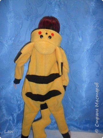 кигуруми пикачу))) по не многу надо готовиться к Новому Году)) и мои куклы тоже хотят новогодние костюмы!  Первый костюмчик готов) Широ очень доволен))) теперь будем наряжать остальных)) фото 6