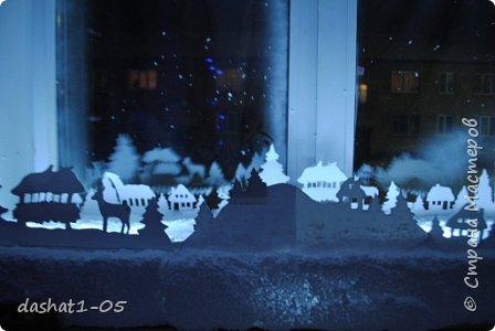 Скоро Новый год! Люблю это время года...Наше окно. фото 4