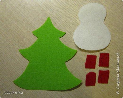 Хочется каждый новый год украсить новыми интерьерными штучками :) Поэтому решила украсить новогодний праздничный стол вот такими весёлыми кармашками для столовых приборов. Делюсь с вами, может, кому-то приглянется тоже. фото 4