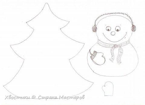 Хочется каждый новый год украсить новыми интерьерными штучками :) Поэтому решила украсить новогодний праздничный стол вот такими весёлыми кармашками для столовых приборов. Делюсь с вами, может, кому-то приглянется тоже. фото 3