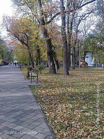 Есть в Краснодаре  замечательное место  - Чистяковская  роща.  Этот забытый  Гулливером зонтик  лежит у входа и ждет своего хозяина.  фото 16