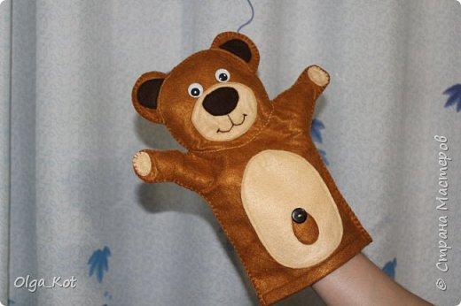 """""""Миша"""" рукавичка для кукольного театра фото 1"""